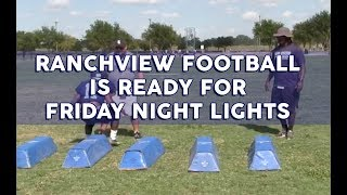 Ranchview Football is Ready for Friday Night Lights