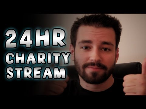 24hr Charity Gaming Live-Stream! Help Sick Kids!