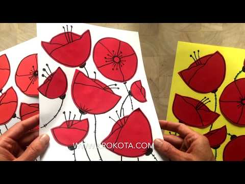 how-to-draw-poppies