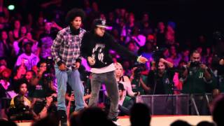 Les Twins vs Lil'O & Tyger B | Juste Debout 2011 Semi Final | YAK FILMS