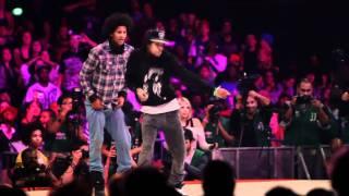 Les Twins vs Lil'O & Tyger B | Juste Debout 2011 Semi Final | YAK FILMS - Stafaband