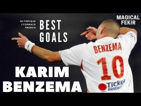 KARIM BENZEMA - OLYMPIQUE LYONNAIS - BEST GOALS