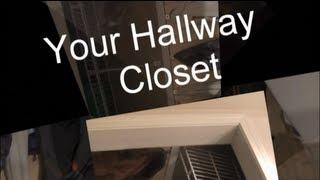 How To Renovate Or Build Your Hallway Closet With Wood Panels Diy For Less Than $50 Home Renovation