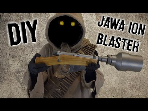 DIY Jawa Ion Blaster with LED | Happy Trooper