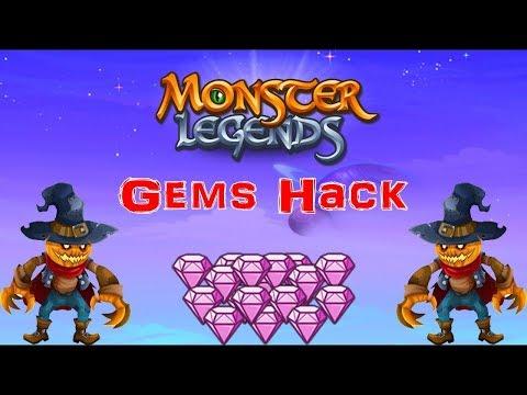 Monster Legends HACK 999.999 Gems in Facebook