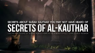You Never Heard of Surah Kauthar Like This