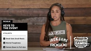 Rogue Iron Game Show - Day 3, Episode 4   Live At The 2020 Reebok CrossFit Games