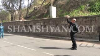 Քարաթափում Հրազդանի կիրճում  դեպքի վայր է ժամանել տարածքի ոստիկանապետը