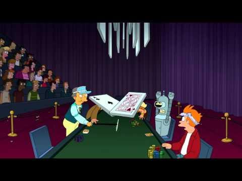 futurama Wild Green Yonder poker