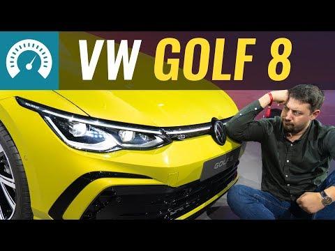 Новый GOLF 8! Всё на что способен VAG? Первый обзор Volkswagen Golf 2020