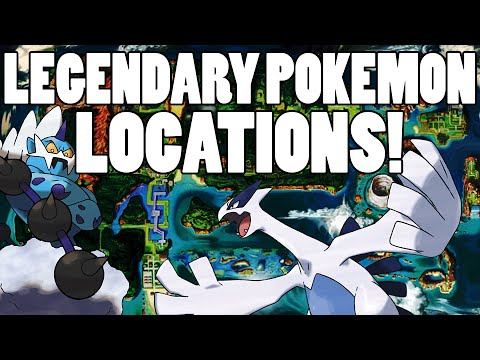 All Legendary Pokemon Locations Omega Ruby And Alpha