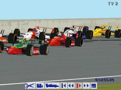 Papyrus IndyCar Racing 2 ICR2 Last Lap Michigan  YouTube