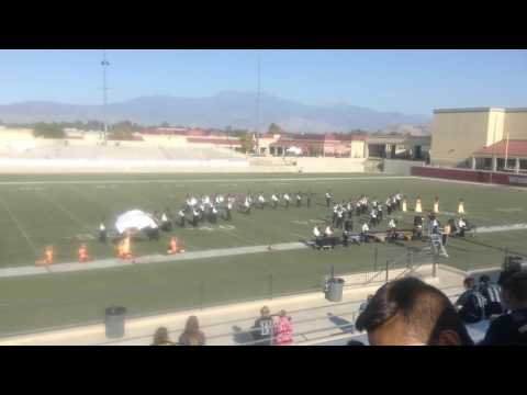 Yucca Valley High School Marching Band 2016