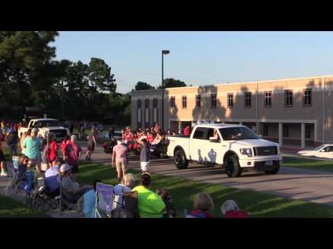 Tomball High School Homecoming Parade 2016