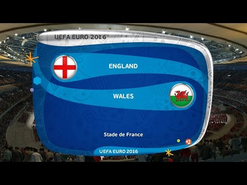Pes 2016 England Vs Wales Group Stage Matchday 2 UEFA Euro 2016 Gameplay