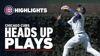 Chicago Cubs Best Heads Up Plays