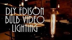 Stephen Taylor - DIY Edison Bulb Video Lighting
