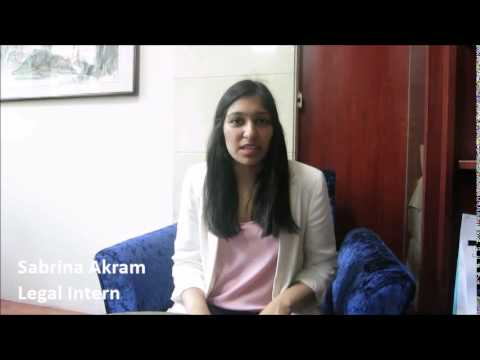 Meet Sabrina - Beijing Internship | Legal | CRCC Asia 2014