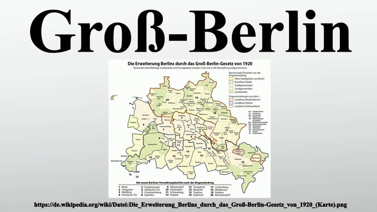 Gross Berlin groß berlin