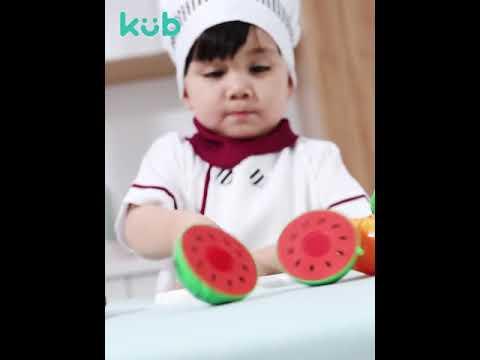 Kub Kitchen Cutting Toy Set
