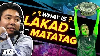Download What is Lakad Matatag? The Filipino Meme that Helped OG Win The International Mp3 and Videos