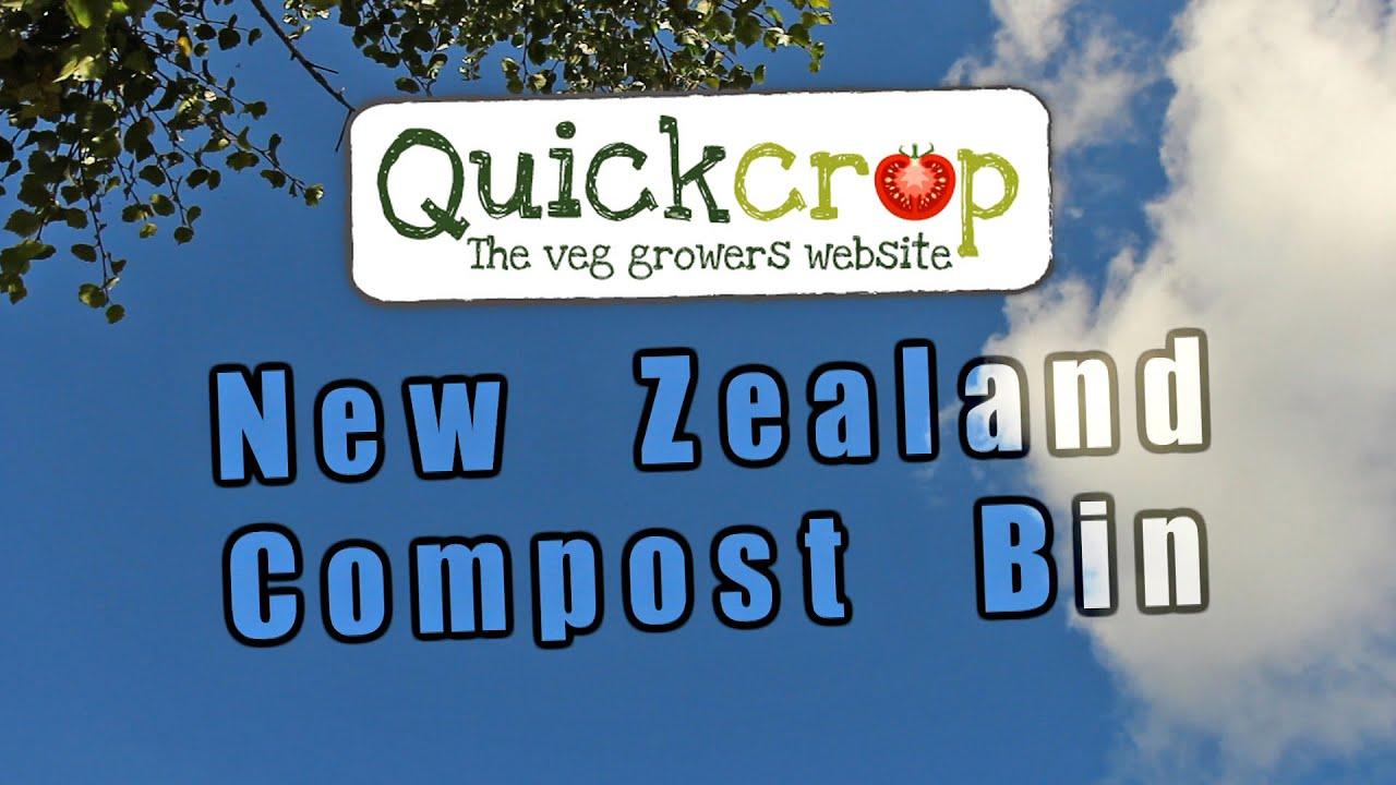 new zealand compost bin