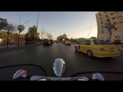 Riding in Amman Traffic 1