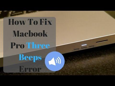 mac mini error 3 beeps
