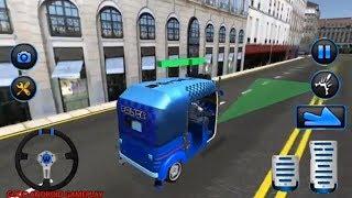 Police Tuk Tuk Auto Rickshaw | Indian Police Tuk Tuk | Android Gameplay FHD
