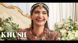Behind the scenes with Sonam Kapoor for Khush Wedding magazine Summer 2017