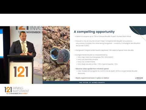 Presentation: Lindian Resources - 121 Mining Investment Sydney Autumn 2019