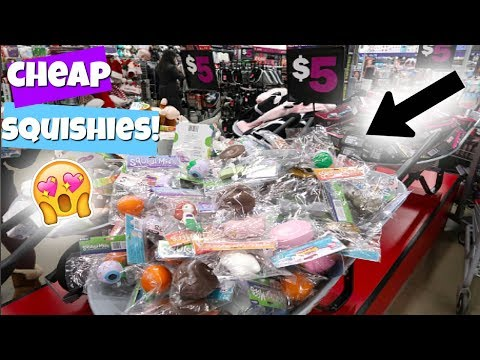 new-squishies-at-five-below!!-vlog