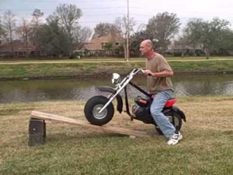 baja mini bike jump