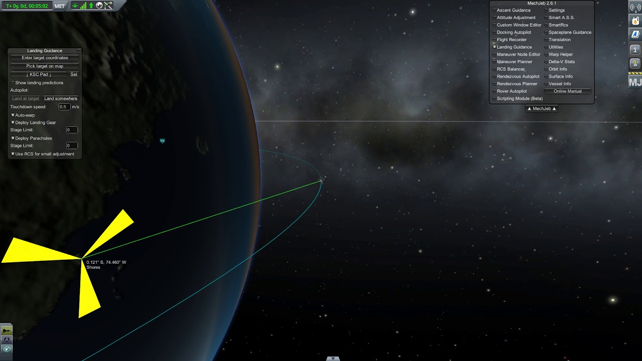 Mechjeb 2 landing guidance doesnt work correctly - Technical