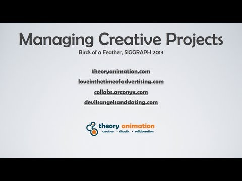 Managing Online Creative Projects, Artists and Teams part 1/2