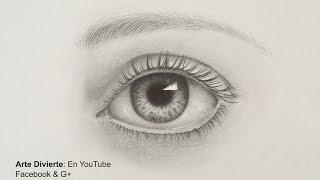 Cómo dibujar un ojo realista a lápiz
