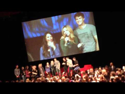 Keegan Allen , Vanessa Ray & Janel Parrish Keep A Secret 3