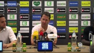 SK Sturm: Mediabriefing vor WAC (4. Runde 2015/16)
