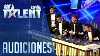 Abmiram Quartet convierte la música clásica en espectáculo | Audiciones 6 | Got Talent España 2016