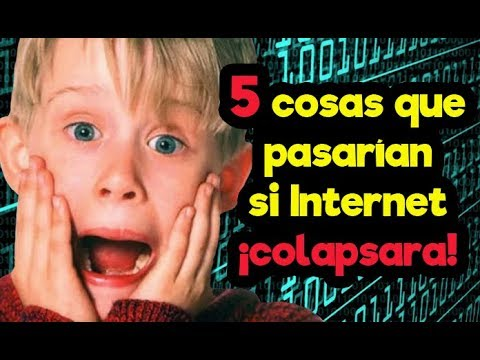5 COSAS QUE PASARÍAN SI INTERNET DESAPARECIERA ¡MAÑANA! - Randómetro