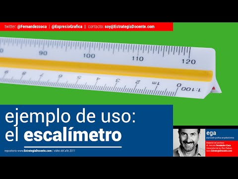 8 escala gr fica uso del escal metro youtube for Programa para hacer planos a escala