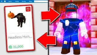 HOW TO REMOVE YOUR HEAD IN ROBLOX! (ROBLOX HEADLESS HORSEMEN ITEM)