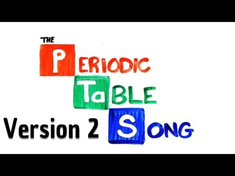 The Periodic Table Song Instrumental (updated) by AsapSCIENCE