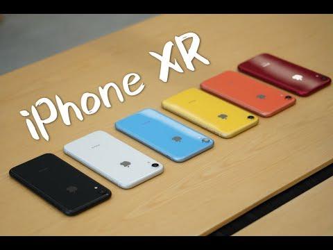 搞机零距离:iPhone XR体验 六款彩虹色哪个最适合你?