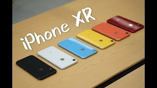 搞机零距离:iPhone XR体验 六款彩虹色哪个最适合你? thumbnail