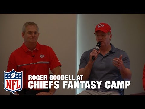 Commissioner Roger Goodell Speaks on a Panel at Chiefs Fantasy Camp | NFL