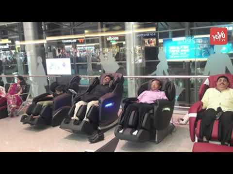 Hyderabad Airport First to Have Wheel Chair Lifts in India | Shamshabad Airport | YOYO TV CHANNEL