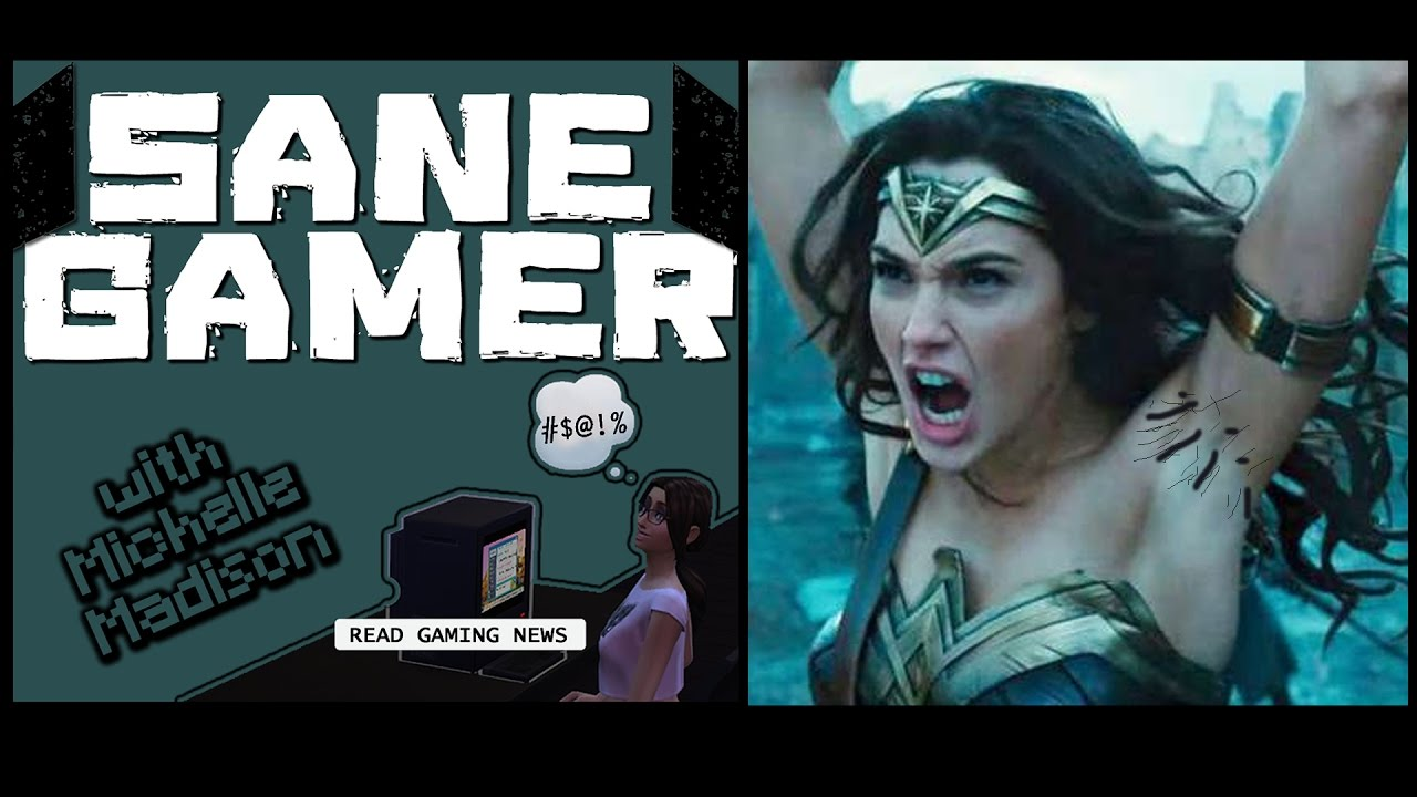 Sane Gamer 2 Wonder Womans Armpits  Mass Effect Non Pc, Sjw  Gamergate Sexist -6008