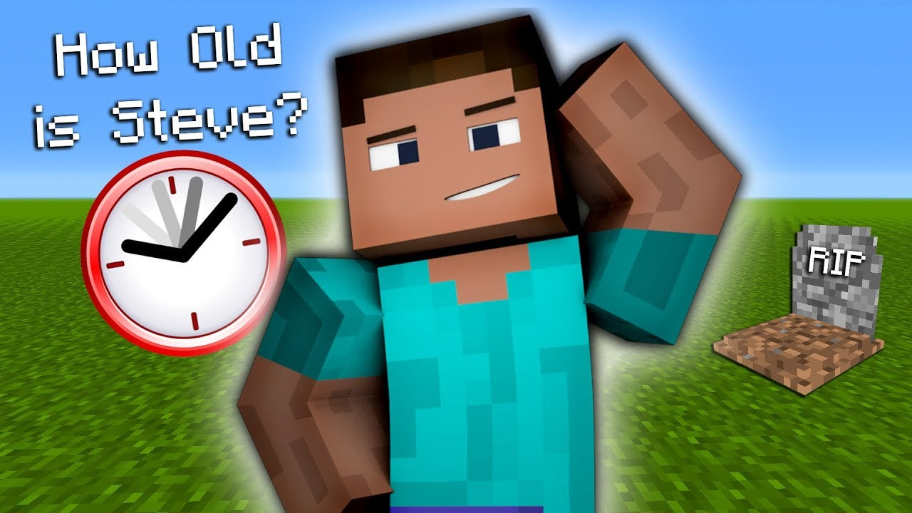 How Old Is Steve In Real Life In Minecraft Secret Youtube
