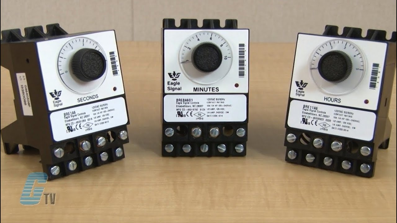 BREA Eagle Signal Preset Timers Galco Industrial - Spdt relay eagle